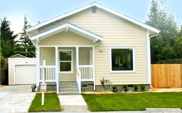 SOLD! Charming Completely Renovated Bungalow in Midtown Petaluma