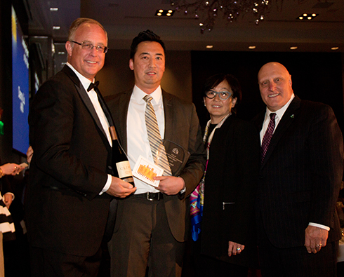 Danny Liu is SFAA Leasing Agent of The Year 2015